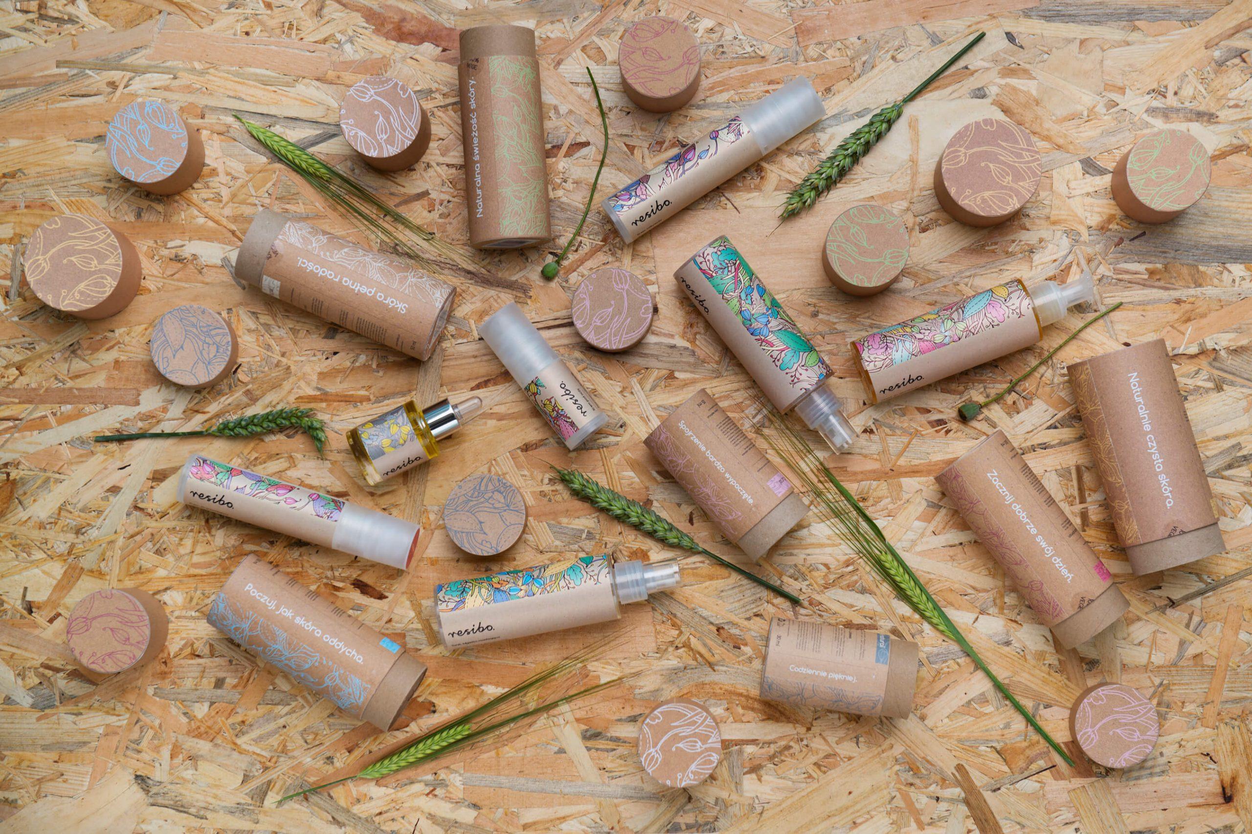 opakowania kosmetyki tworzywa sztuczne kartony