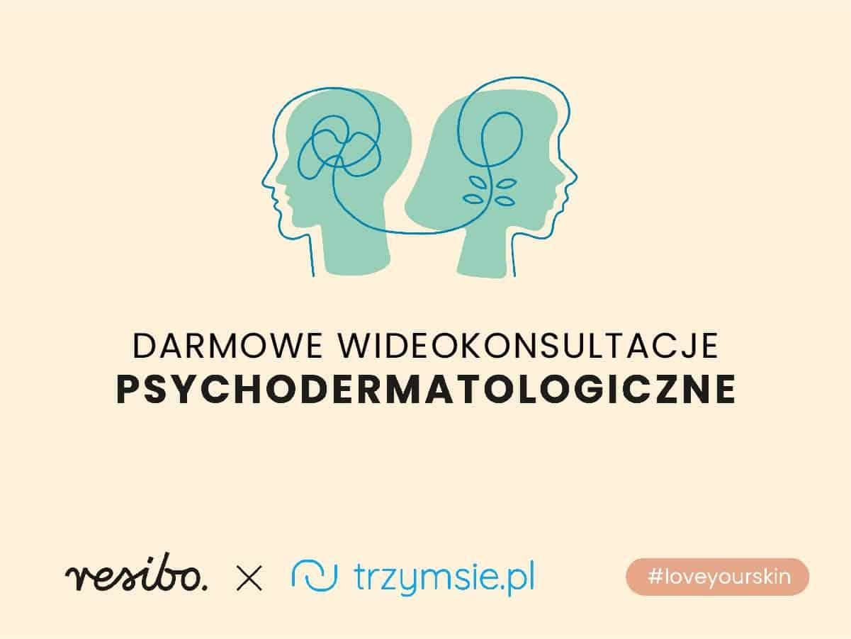loveyourskin resibo i trzymsie.pl grafika promujaca darmowe dermokonsultacje